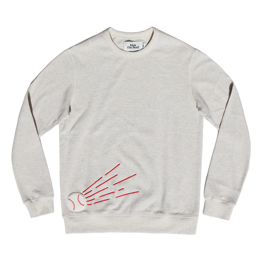 KICK THE BEATBeat Ball Sweat(Ecru)30% Off