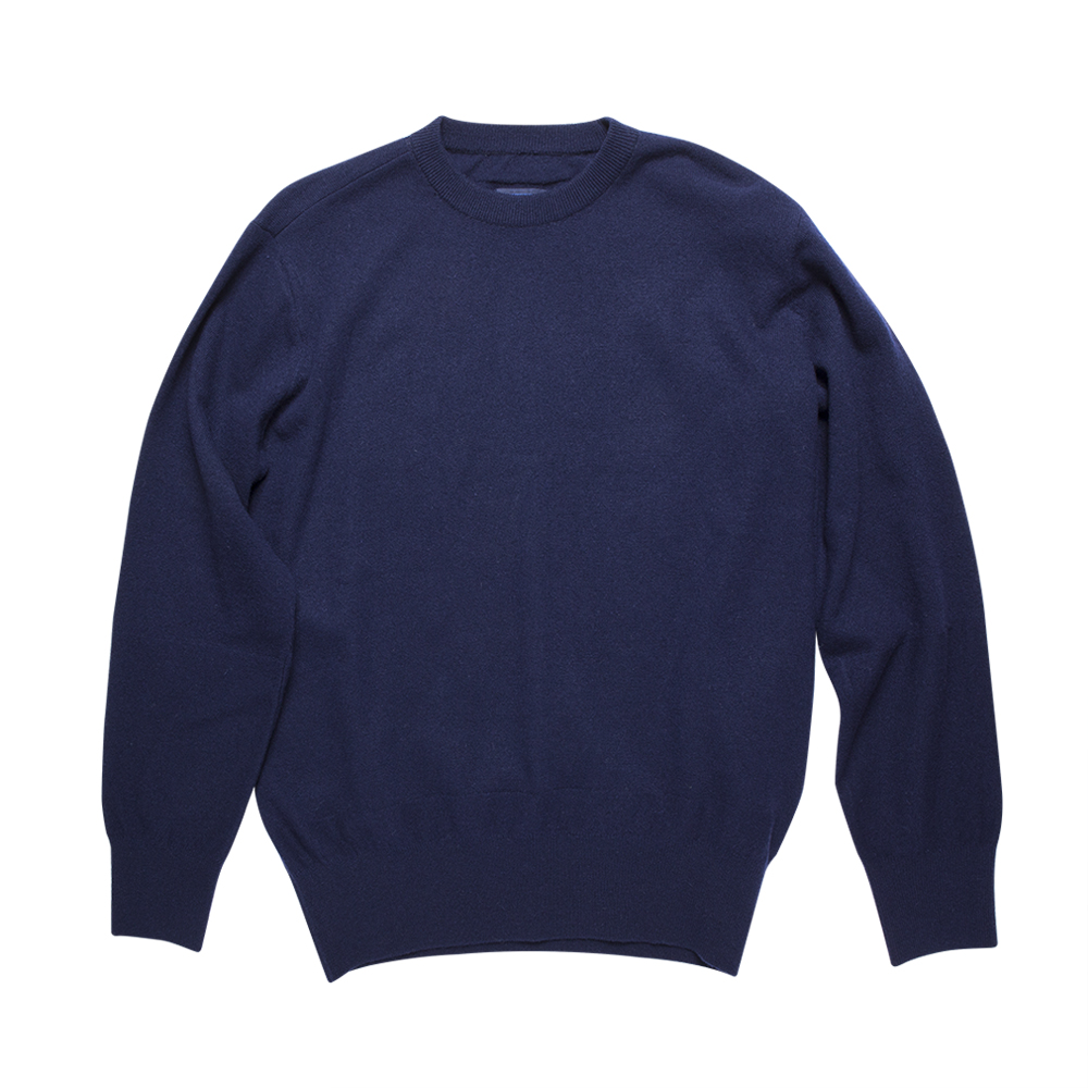 DOCUMENTRound Neck Sweater(Blue)30% ff