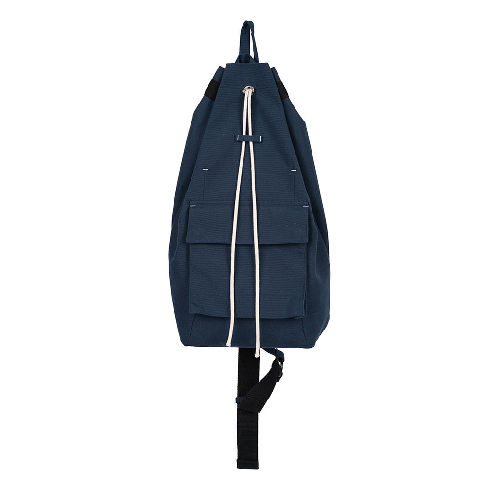 POLYTERUOne Shoulder Drawstring Bag(Navy)