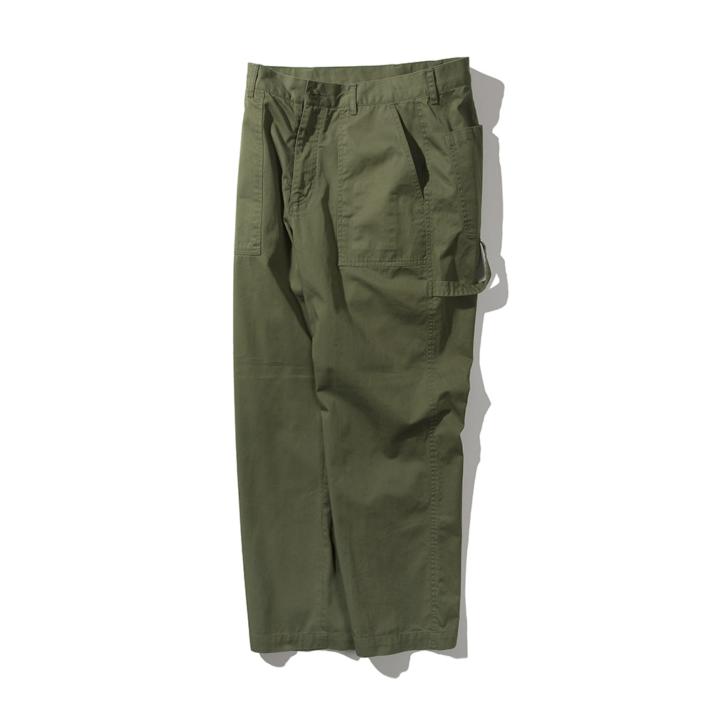 POTTERYWashed Painter Pants(Olive)20%Off