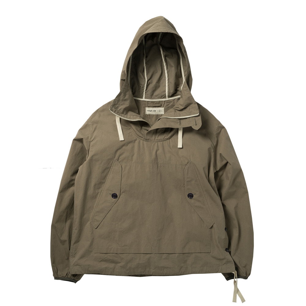 ROUGH SIDECotton Anorak(Khaki)