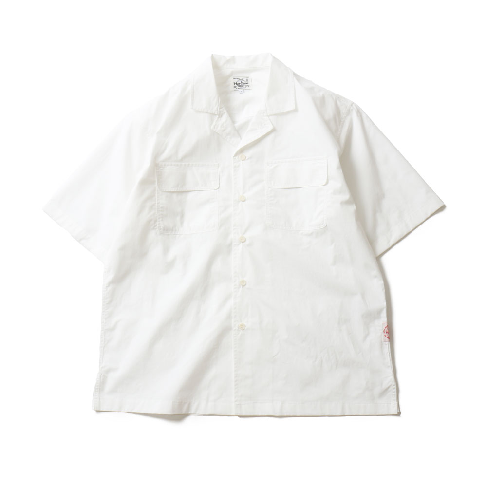 HORLISUNJoshua Extra High Density Solid Open Shirts(White)10% Off