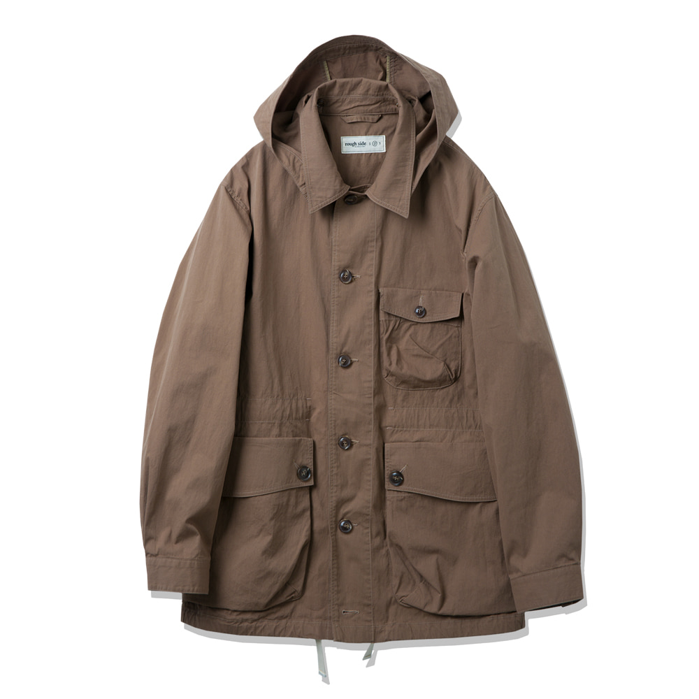 ROUGH SIDER1 Field Jumper(Brown)