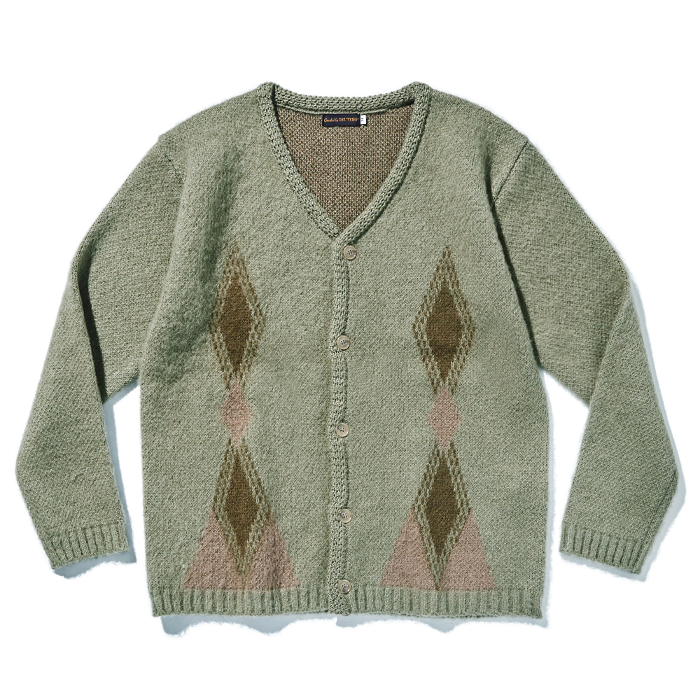 DEUTERODTR1916 Past Mohair Cardigan(Olive)