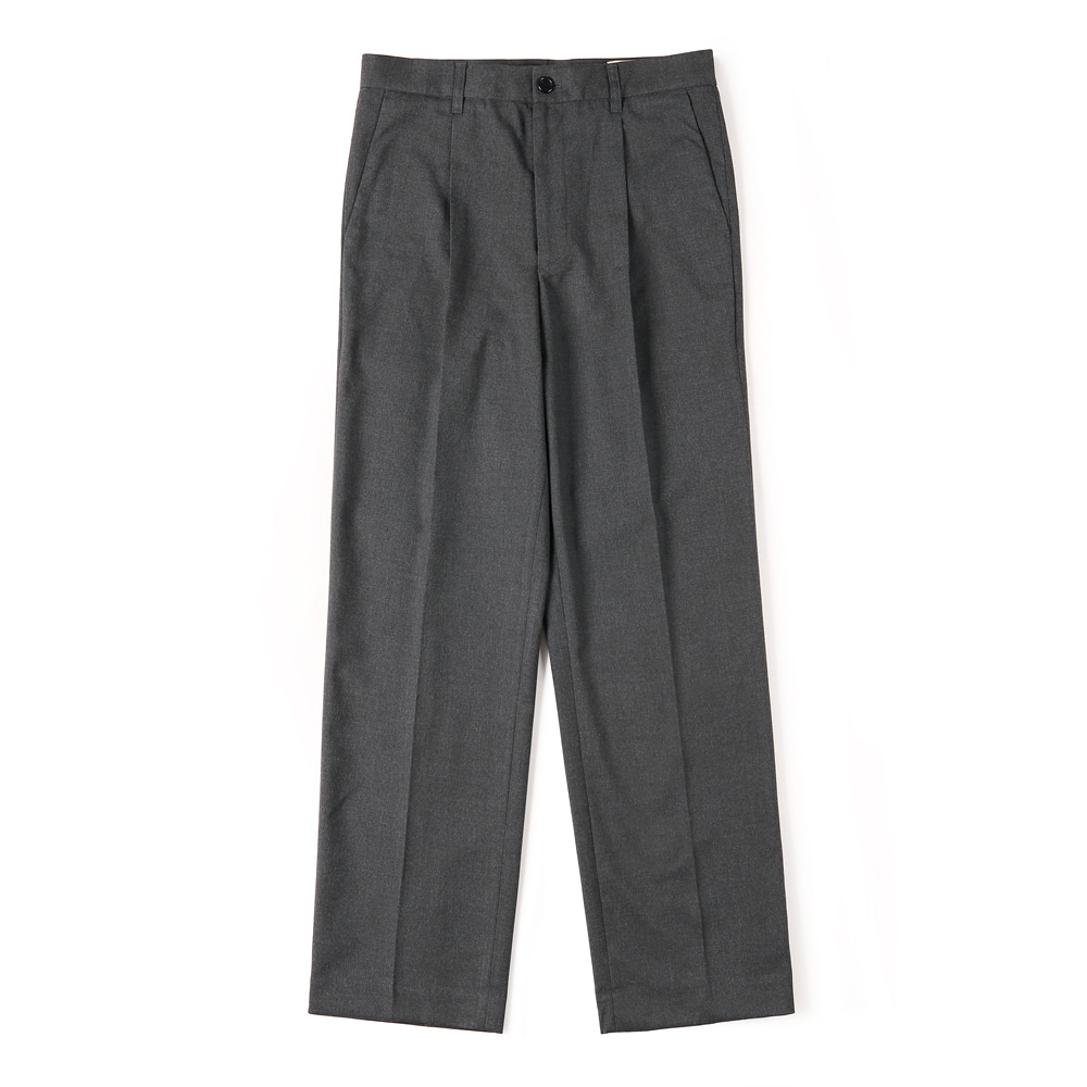 SHIRTERCinch-Back Loose Fit Pants(Dark Grey)