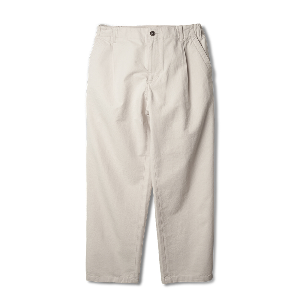 ROUGH SIDEElastic Pants(Off White)