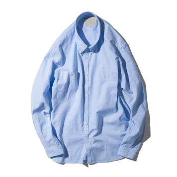 POTTERYCotton Washed Shirt 002(Blue)