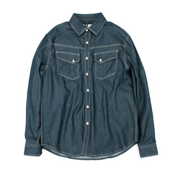 YOU NEED GARMENTSSlope Shirt(Indigo Green)