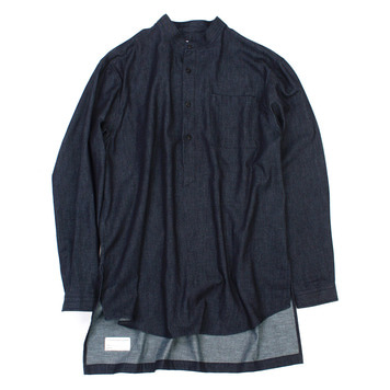 YOU NEED GARMENTSIndigo Long Shirts(Indigo)