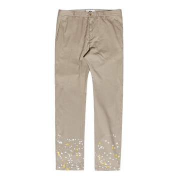 KICK THE BEATSplatter Chino(Beige)30% Off
