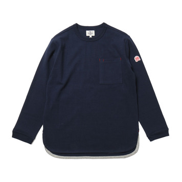 HORLISUNEmery Long Sleeve Pocket T(Navy 803)