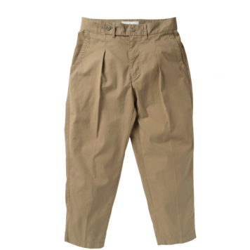 ROUGH SIDERelaxed Trousers(Beige)30% Off