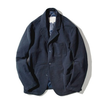 POTTERYWashed Moleskin Jacket 02(Navy)