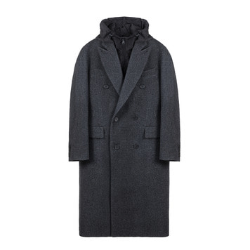 KEI CURRENTB Coat(Charcoal)