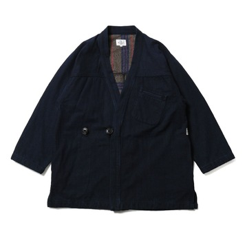 HORLISUNDover Denim Robe(Indigo Navy)10% off