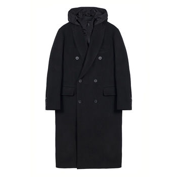 KEI CURRENTUnisex B Coat(Black)