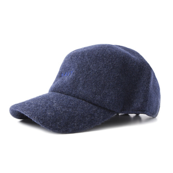 GOOD NIGHT & GOOD LUCK'NAVY' Wool Cap
