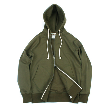 YOU NEED GARMENTSZip Sweat Parka(Khaki)