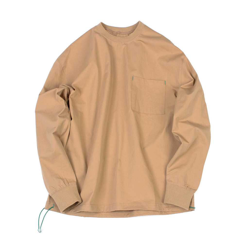 YOU NEED GARMENTSString Crewneck(Camel)