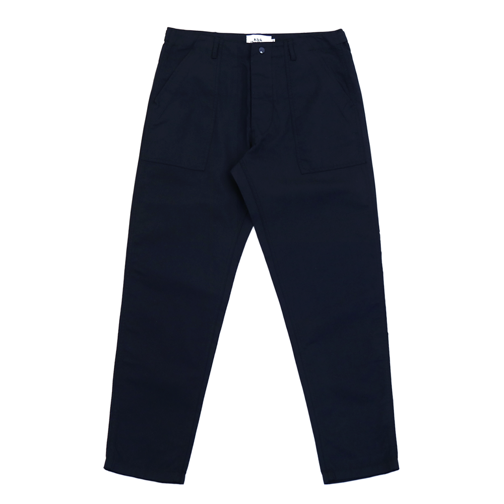 KICK THE BEATSlim Fatigue Pants(Navy)
