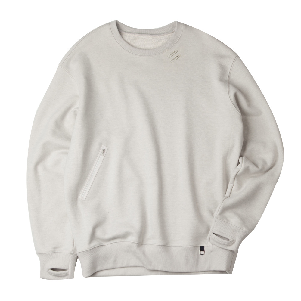 GAVANCUnisex NEO Cordura Traveler Sweatshirt32% Off(Mist Grey)