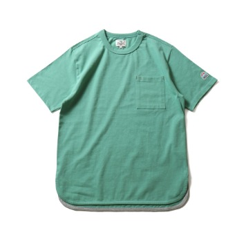 HORLISUNEmery Short Sleeve Pocket T(Green)10% Off