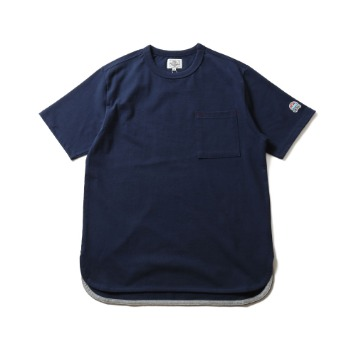 HORLISUNEmery Short Sleeve Pocket T(Navy)10% Off