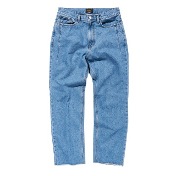 DEUTERODTR1905 Vintage Washed Pants(Light Blue)