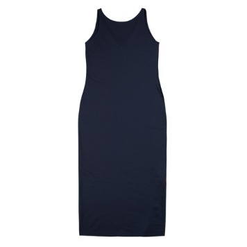 TOESleeveless Simple Dress(Navy)30% Off
