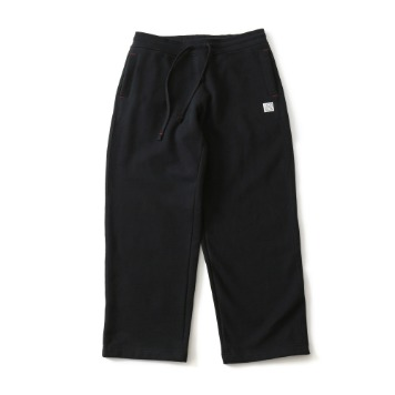 HORLISUNMarcell Wide Loose Fit Sweat Pants(Black)10% Off