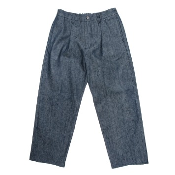 KICK THE BEATUnisex Denim Trouser(Raw Selvedge)