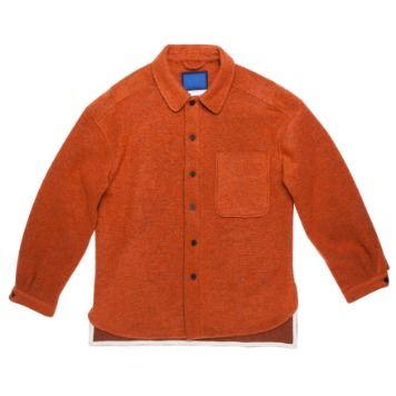 DOCUMENTWool Shirts(Orange)