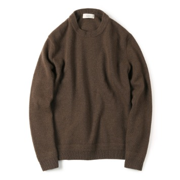 SHIRTERTASMANIA Wool Cashmere Knit(Brown)20% Off