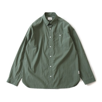HORLISUNDundas Cotton Nylon Shirts(Dark Green)10% Off
