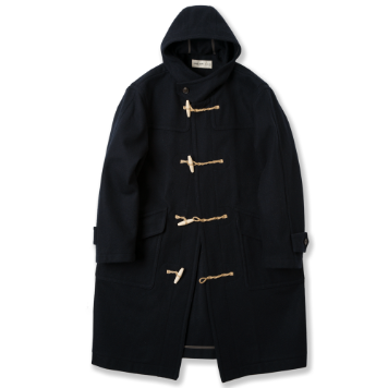 ROUGH SIDEDuffle Coat(Navy)