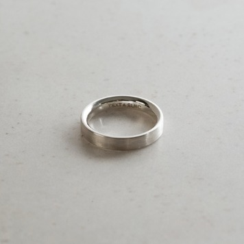 TEXT & SLNCMinimalist Ring20% Off