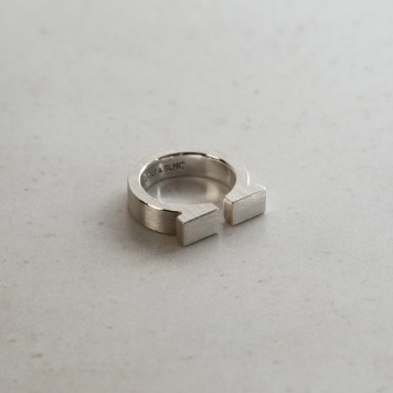 TEXT & SLNCOmega Ring20% Off