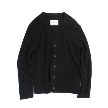 YOU NEED GARMENTSFrench Terry Cardigan(Black)