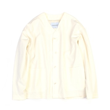 YOU NEED GARMENTSRCN Collarless Jacket(Off White)