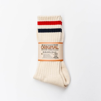 ALL TIME ORIGINAL*RESTOCK*JFK Socks(Red/Navy)