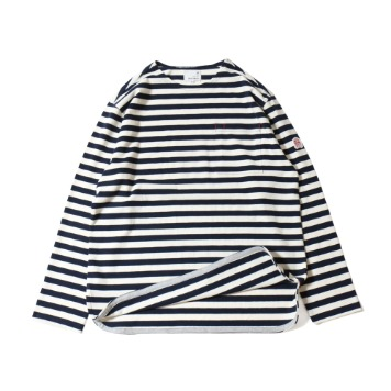 HORLISUNUnisex Union Pocket T(Navy/Cream)