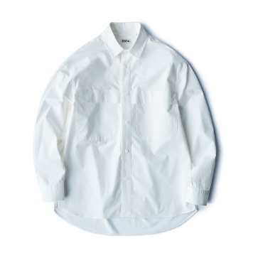 ESFAIDrop Shoulder Shirts(White)