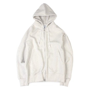 YOU NEED GARMENTSZip Sweat Parka(Oatmeal)