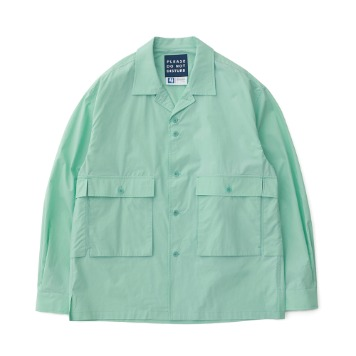 DAILY INNHousekeeper Oversized Shirts(Mint Candy)