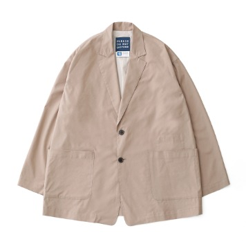 DAILY INNReception 2B Oversized Set Up Jacket(L Beige)