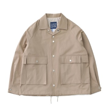 DAILY INNHouse Keeper Oversized Set Up Blouson(Peanut)