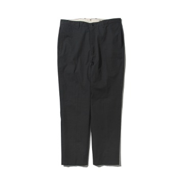 POTTERYWashed Tapered PantsKAYANU Cotton Vintage Chino Cloth(Charcoal)