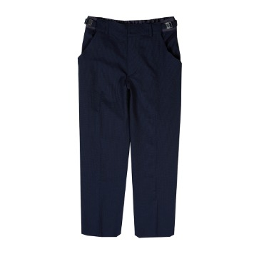 Taste of EssenceUnisex Twotone Buckle Pants(Navy)