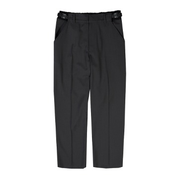 Taste of EssenceUnisex Twotone Buckle Pants(Grey)
