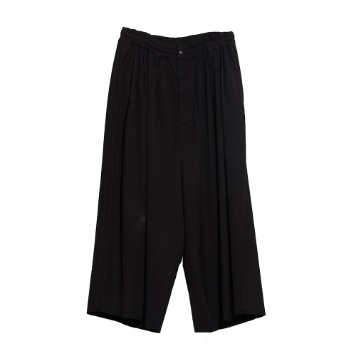 CHAMA SPORTS LAB.Unisex String Wide Pants(Black)